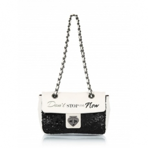 BORSA A TRACOLLA - MINI NOW WHITE- LE PANDORINE