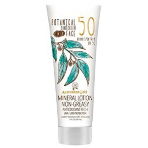 BOTANICAL SUNSCREEN FACE SPF 50 PREMIUM COVERAGE 88 ML - AUSTRALIAN GOLD