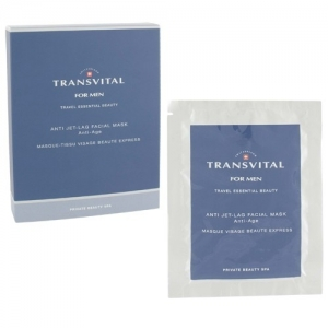 TRANSVITAL FOR MEN - ANTI JET-LAG FACIAL MASK ANTI-AGE 18 ML X 4