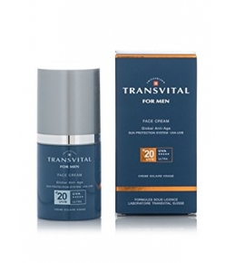 TRANSVITAL FOR MEN FACE CREAM IP 20 CREME SOLAIRE VISAGE 50 ML