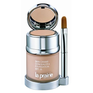 TESTER SKIN CAVIAR FOUNDATION SPF 15 HONEY BEIGE 30 ML LA PRAIRIE