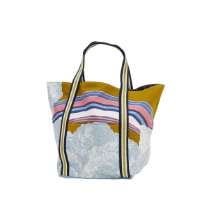 BORSA ESTIVA DA CITTA' RAINBOW YELLOW - INOUITOOSH PARIS