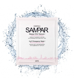 H2O'EMERGENCY MASK! 3X25GR-SAMPAR PARIS