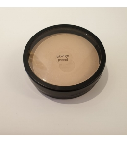 TESTER-GOLDEN LIGHT PRESSED BASE 9,9 GR-GLO MINERALS